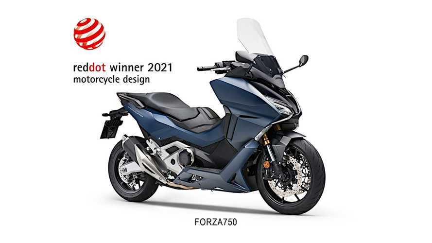 Honda Forza 750 Scooter Raih Red Dot Design Award 2021