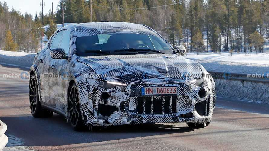 Ferrari Purosangue Test Vehicle New Spy Shots