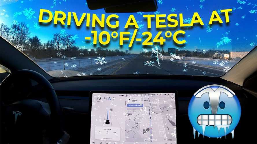How Much Do Extreme Low Temperatures Affect Tesla Model 3 Range?