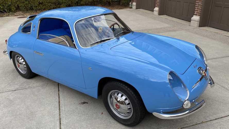 Venduta per 191.000 euro una Fiat-Abarth 750 Monza Zagato