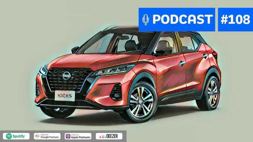 Motor1.com Podcast #108: Nissan Kicks 2022 abre a temporada de novos SUVs