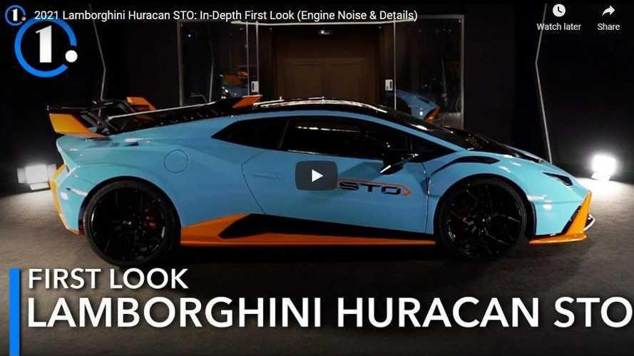Tampilan Perdana Lamborghini Huracan STO: Garang tapi Ramah