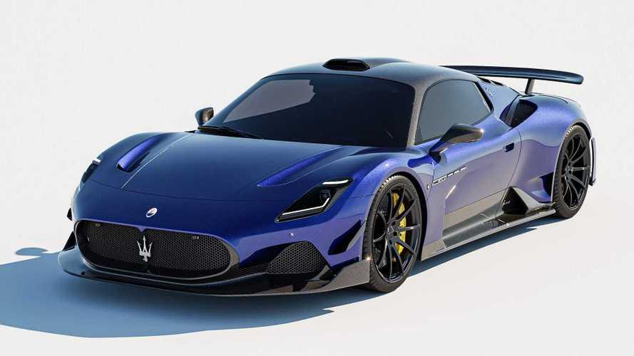 El Maserati MC20 estrena un kit de carrocería de 7 Designs