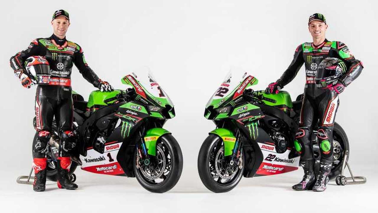 Kawasaki Racing Team: 2021 Ninja ZX-10RR - Rea & Lowes
