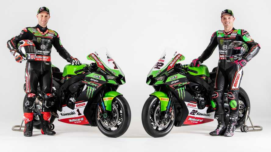 Kawasaki's New WSBK Livery Takes Us Back To The '90s