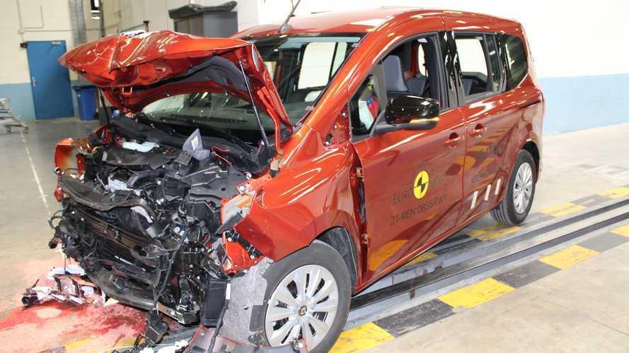 Renault Kangoo 2021, i crash test di EuroNCAP