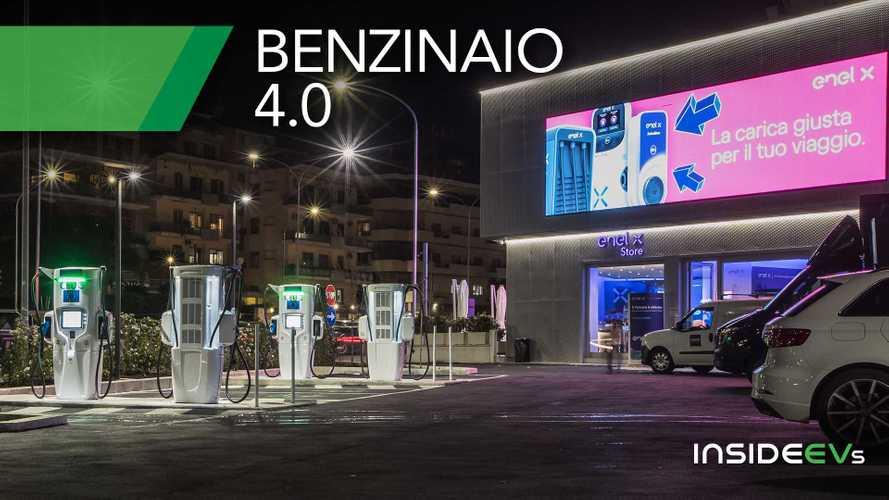 """Ecco il primo """"benzinaio"""" elettrico ultra fast d'Italia: il video"""