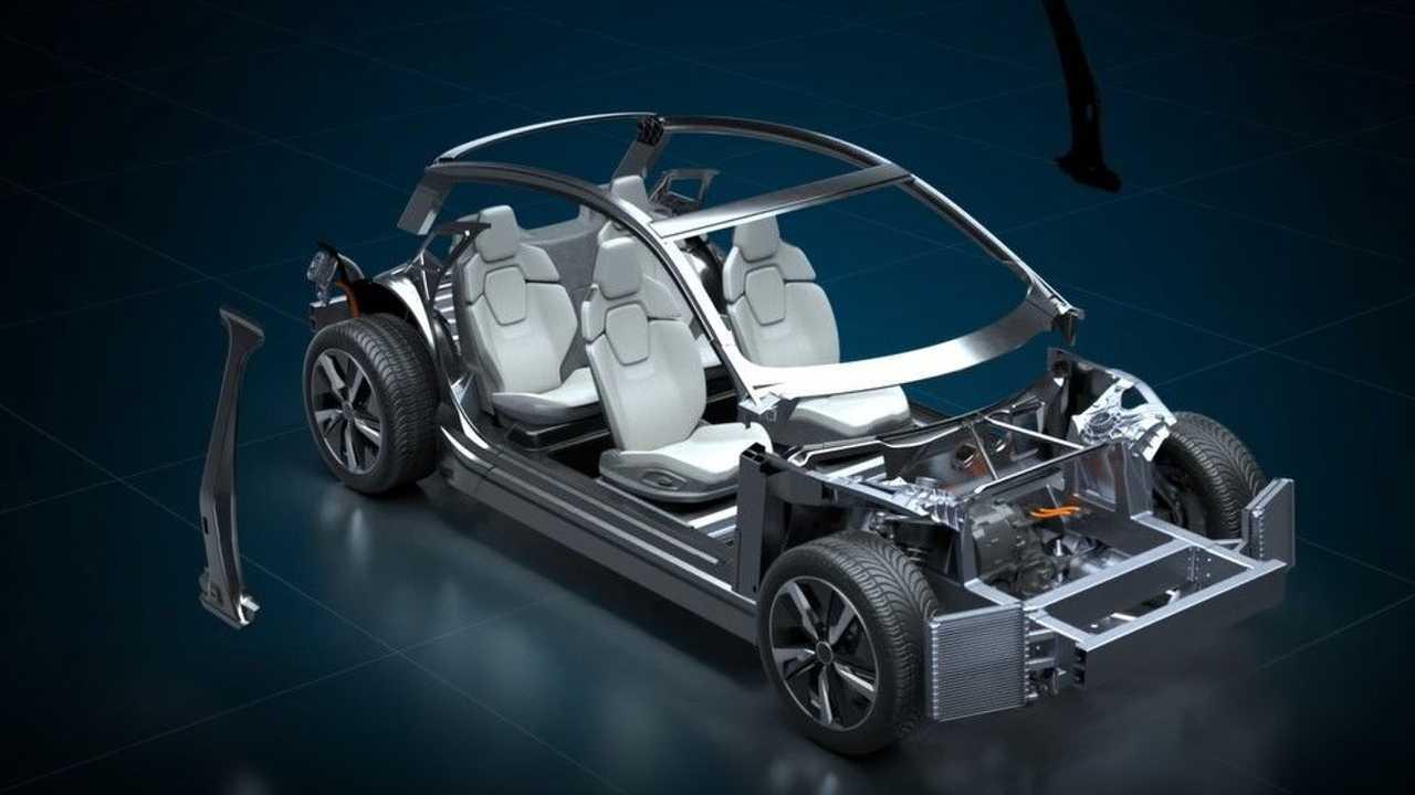 Italdesign, Williams AE New EV Platform