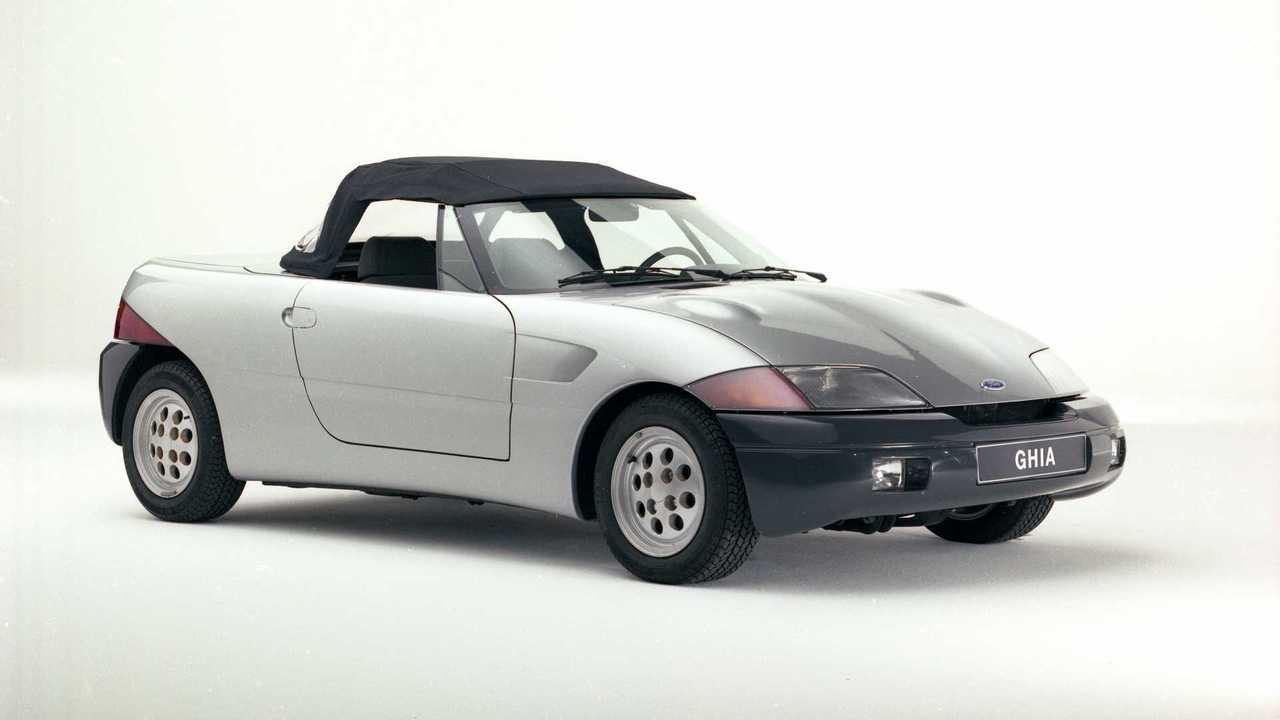 Ghia Barchetta prototipo olvidado 1983