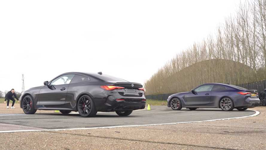 UK: BMW M440i vs M4 Competition drag race is crazy close