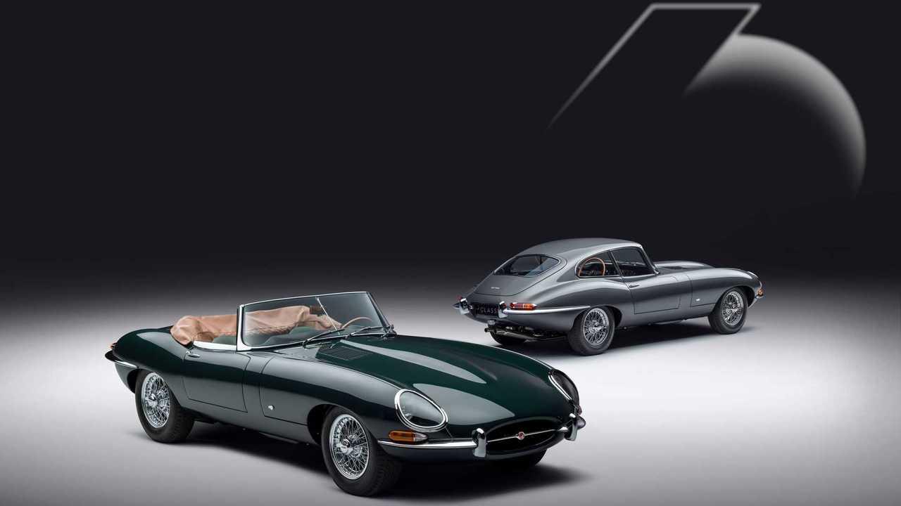 Jaguar E-Type Colección 60 Aniversario