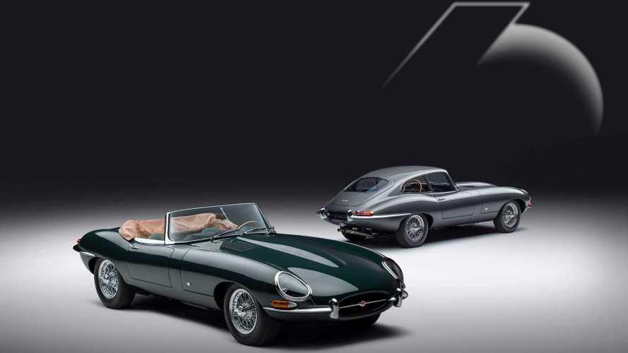 Jaguar restaura 12 E-Type para celebrar el 60 aniversario del modelo