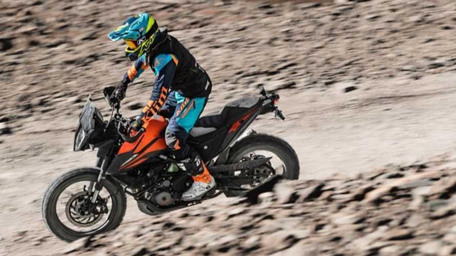 KTM 390 Adventure Sets New Hill Climb Record
