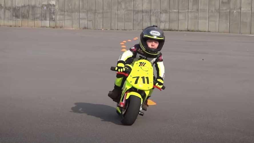 This Baby Biker Has Some Insane Riding Skills