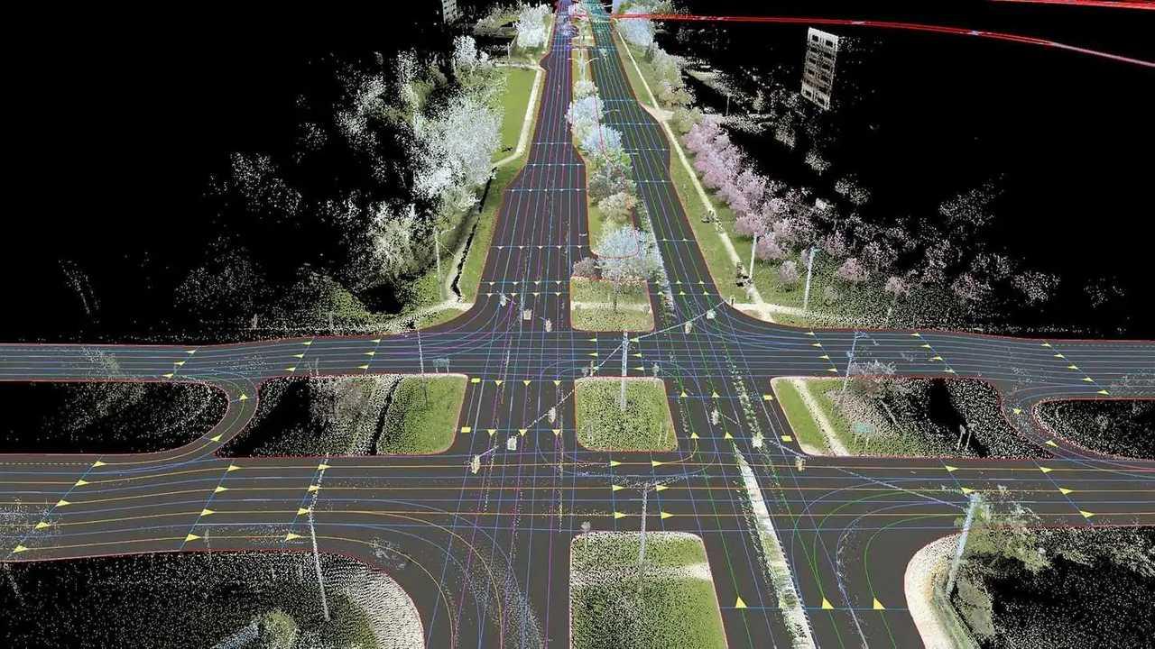 Yol elektronik harita