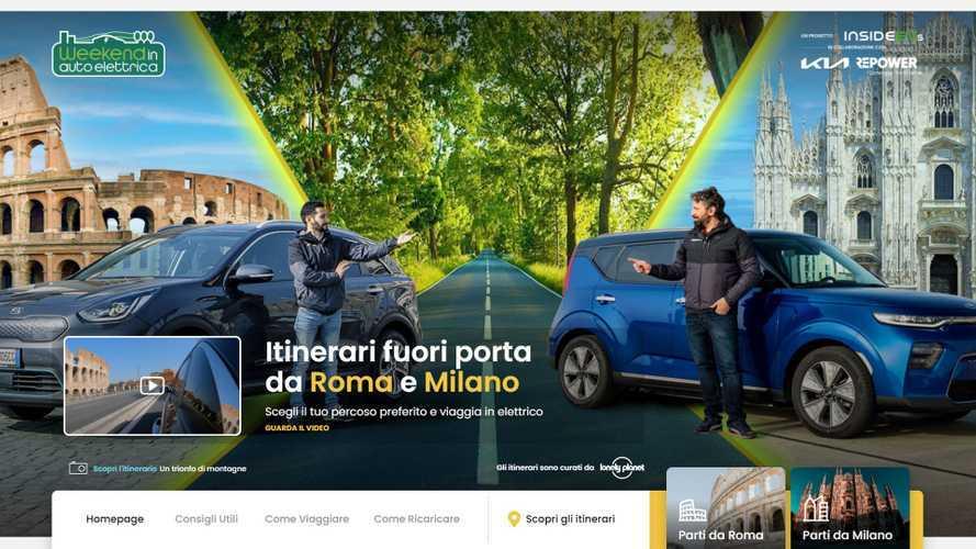 Weekend in auto elettrica, la guida di InsideEVs e Lonely Planet