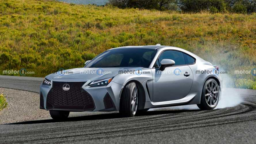 Lexus UC Sports Coupe Rendered After Possible Spy Shots Emerge