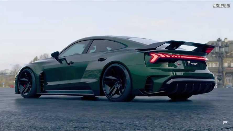 La plus extrême des Audi e-tron GT est signée Prior Design