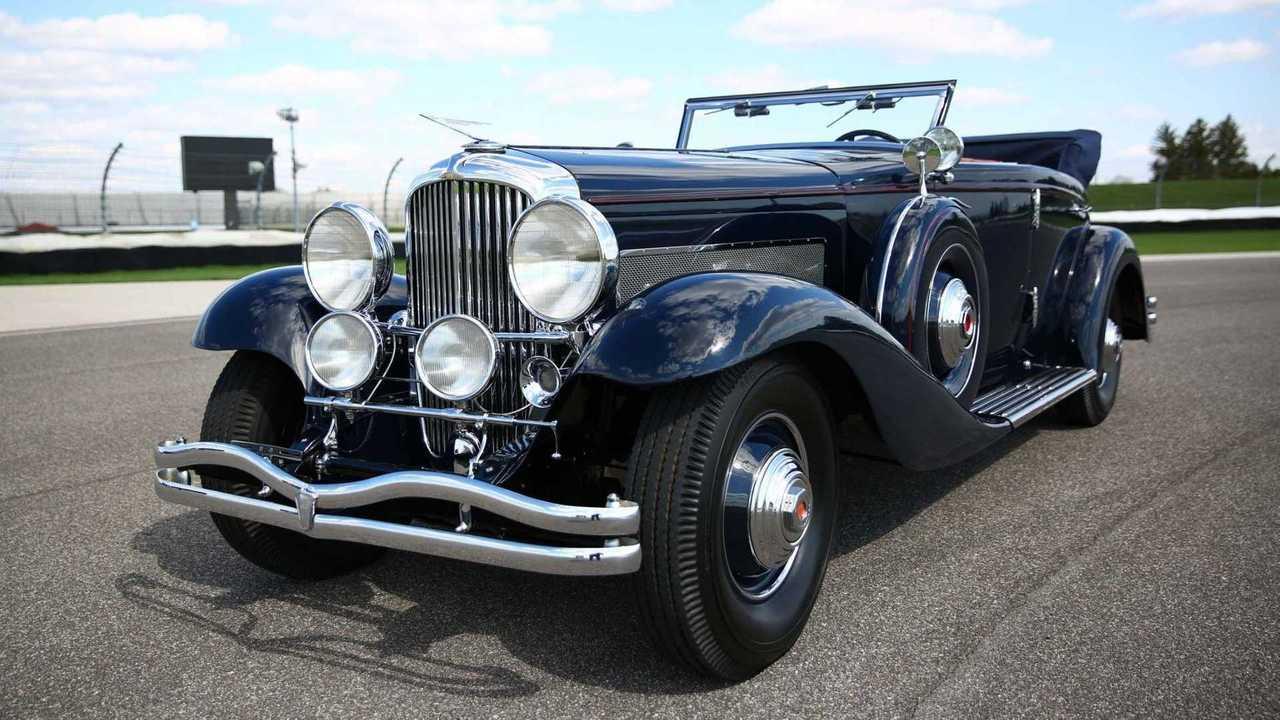 This 1935 Duesenberg Model JN sold for $1.34 million through Bring A Trailer.