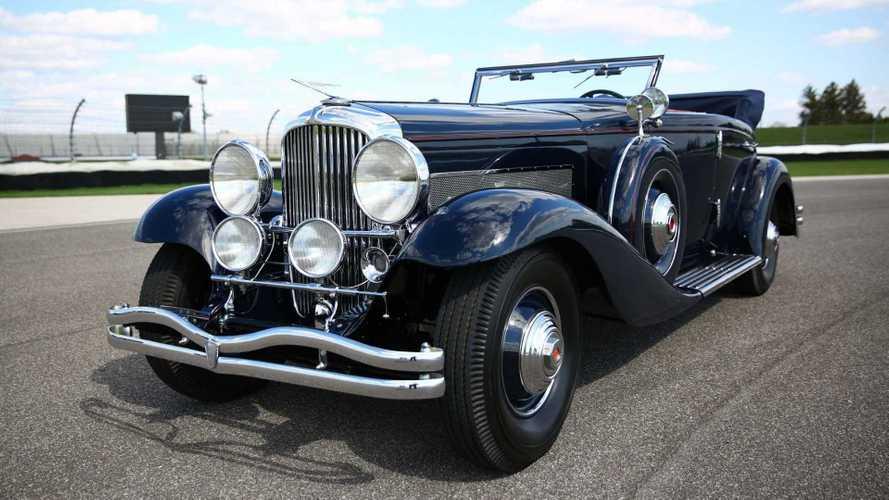 سيارة دويسنبرغ تُسجل رقمًا قياسيًا في مزاد مع 1.34 مليون دولار