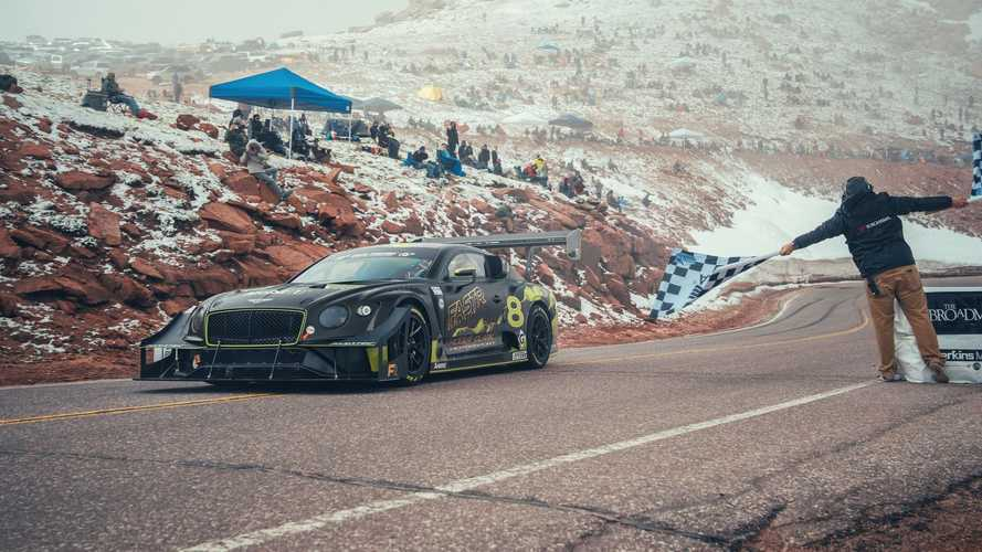 Bentley Continental GT3 alla Pikes Peak 2021