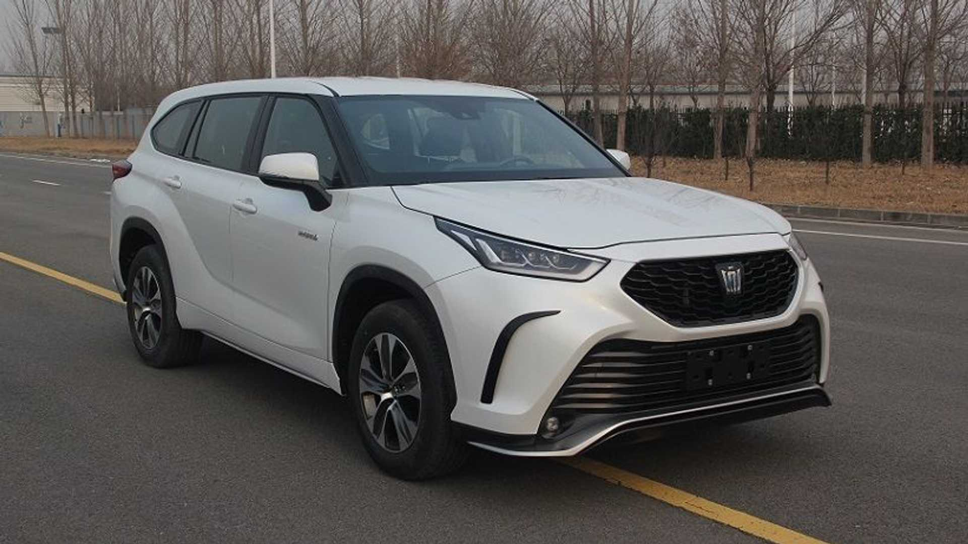 2022 Toyota Crown SUV Makes Early Debut And It Looks Familiar