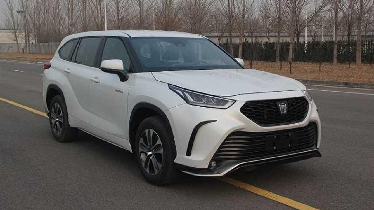 2022 Toyota Crown Kugler (CN) at MIIT
