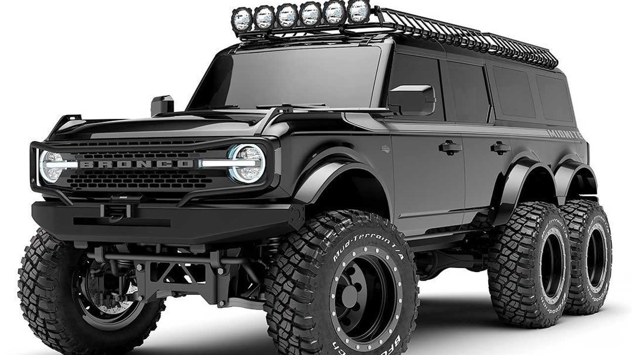 Custom Bronco Builder Announces 6x6 For Customers Seeking Extra Wheels