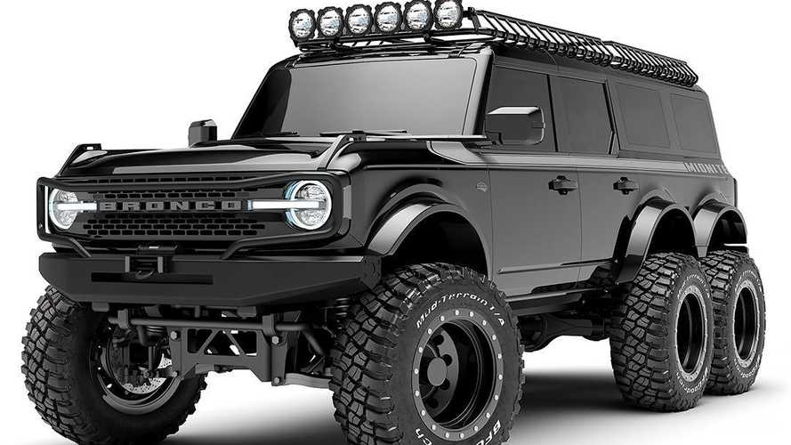 Custom Ford Bronco Builder Announces Bronco 6x6 For Customers Seeking Extra Wheels