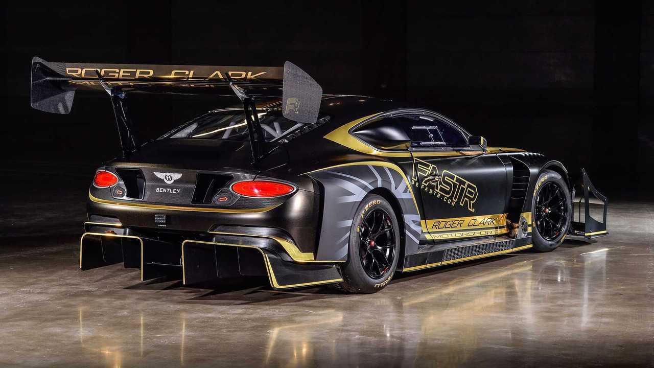 Bentley Continental GT3 Pikes Peak con carburante renovable