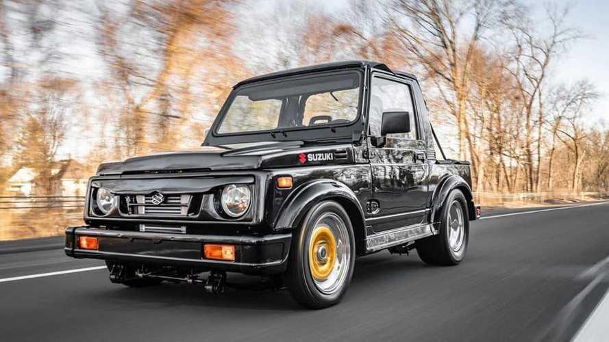 Plus de 400 ch pour ce Suzuki Samurai à moteur rotatif !