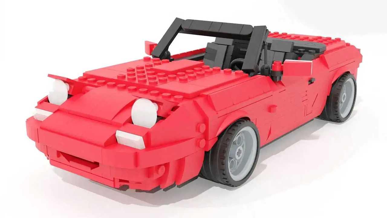 Mazda MX-5 di Lego