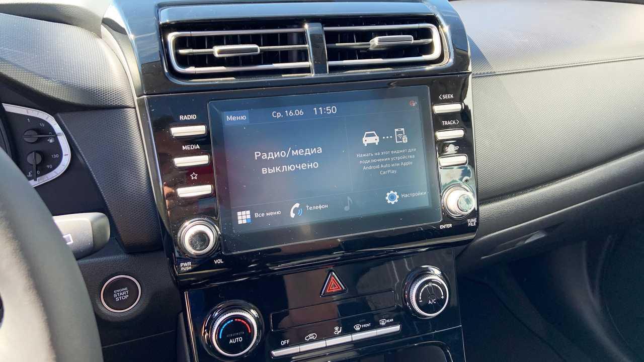 Мультимедиа Hyundai Creta второго поколения для России