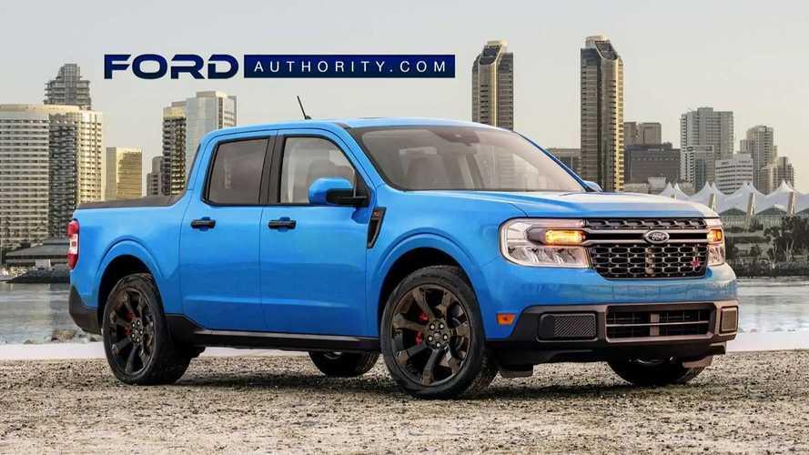 Ford Maverick ST: projeção antecipa possível versão esportiva