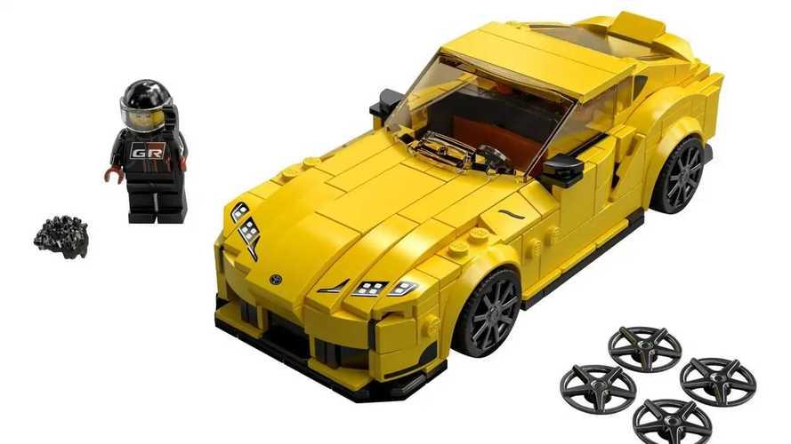 Toyota GR Supra - Lego