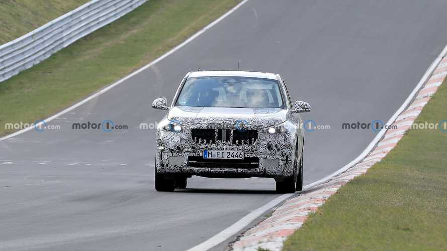 2022 BMW X1 Spied At The Nurburgring