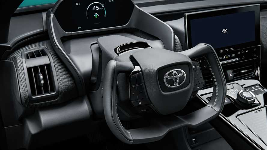 Toyota bZ4X Electric Crossover Gets Yoke Paired With Steer-By-Wire