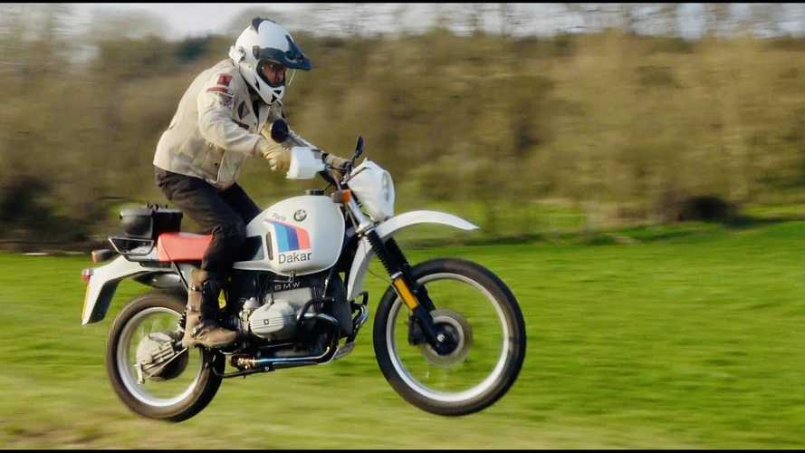 What's It Like To Actually Ride A Rare BMW R80 G/S Paris-Dakar?