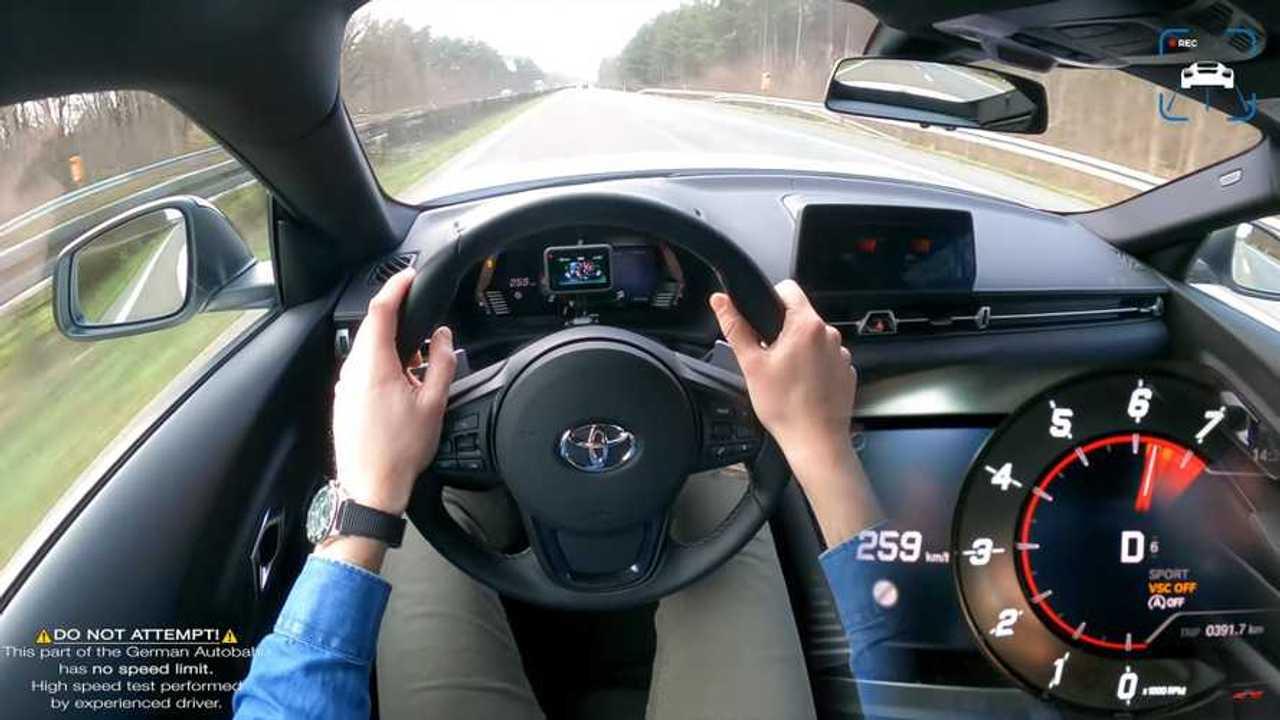 Toyota Supra 2.0 Autobahn Run