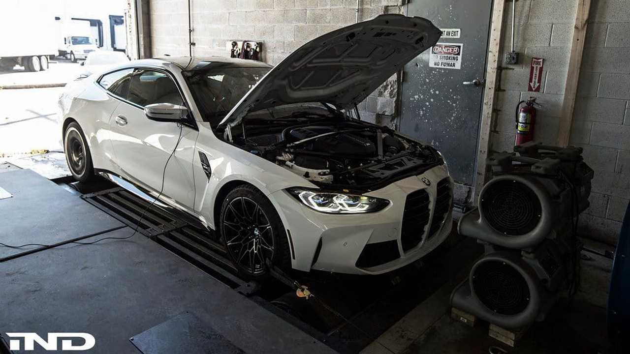 2021 BMW M4 Coupe first dyno run