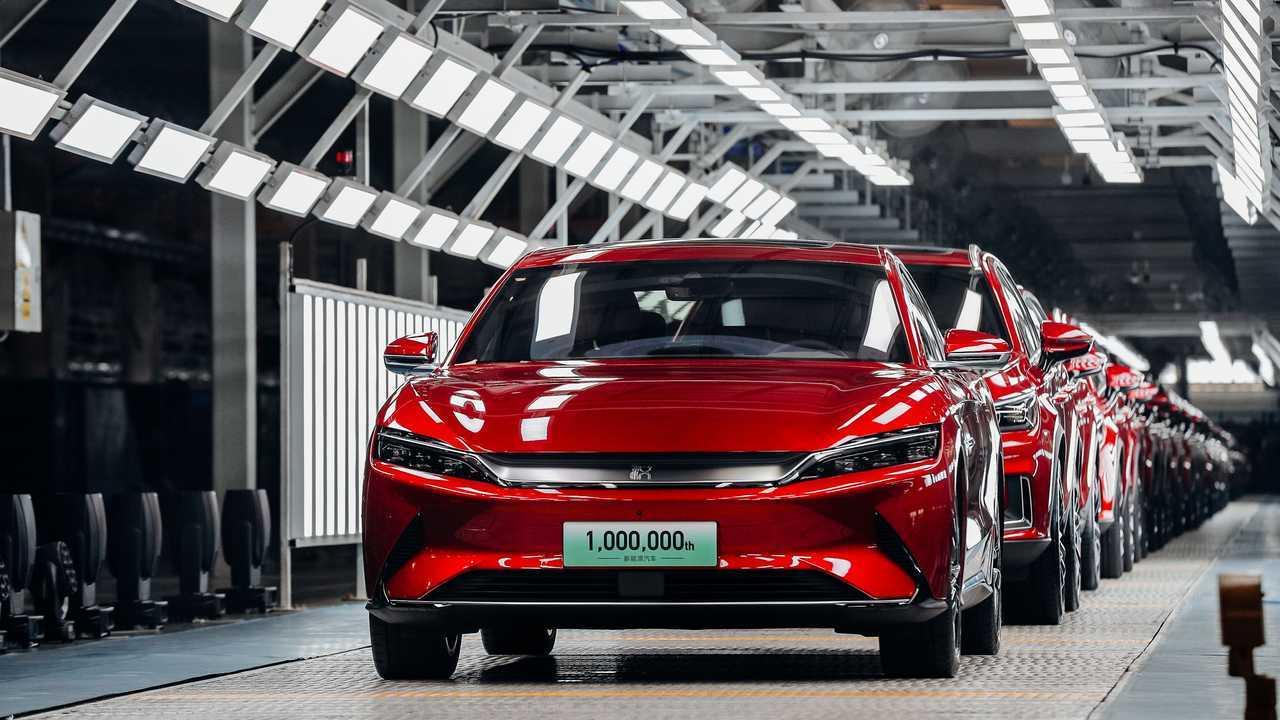 BYD's One-Millionth Plug-In Passenger Car - BYD Han