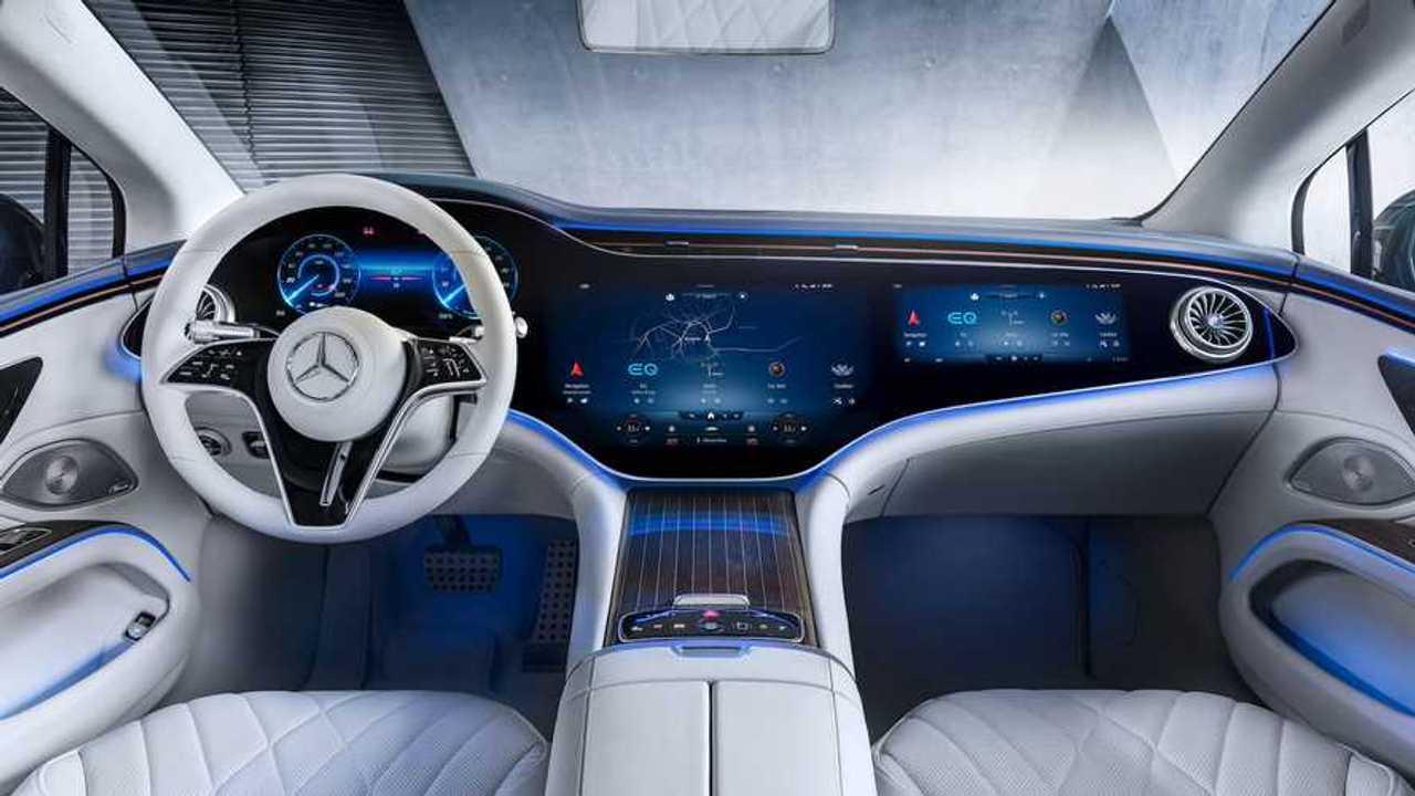 2022 Mercedes-Benz EQS İç Mekanı