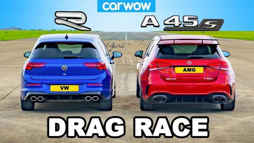 Vidéo - La VW Golf 8 R peut-elle battre la Mercedes-AMG  A 45 S ?