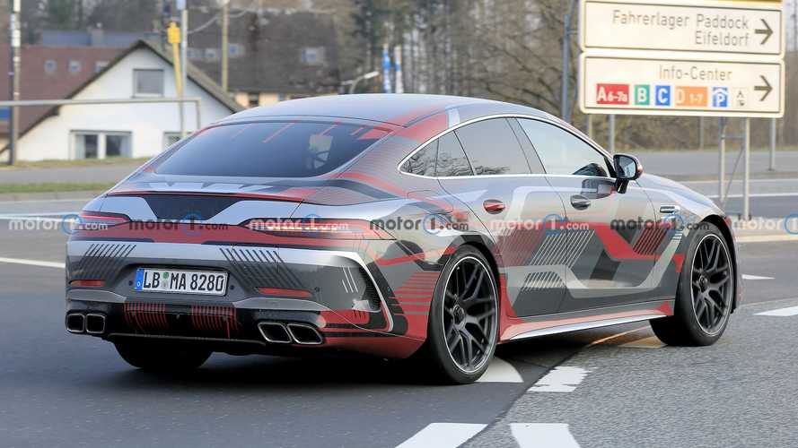 Mercedes-AMG GT73e New Spy Shots