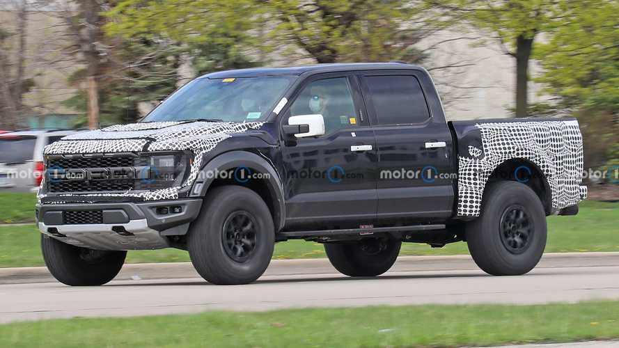2022 Ford F-150 Raptor R Spy Shots