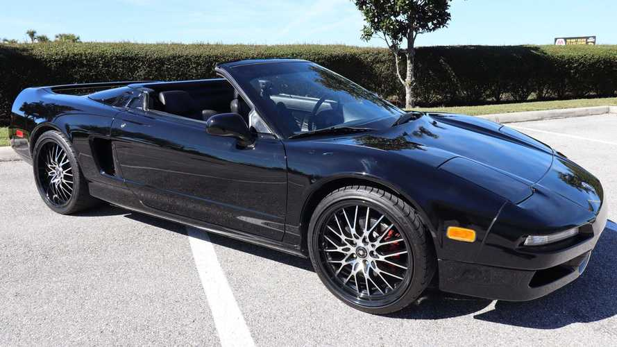 Ex-Ice Cube 1992 Acura NSX Convertible Is Up For Sale