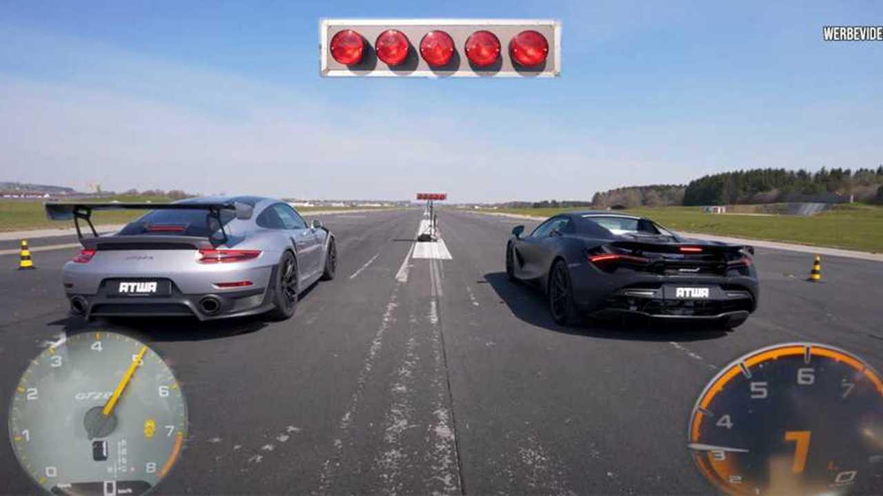 Porsche 911 GT2 RS vs. McLaren 720S