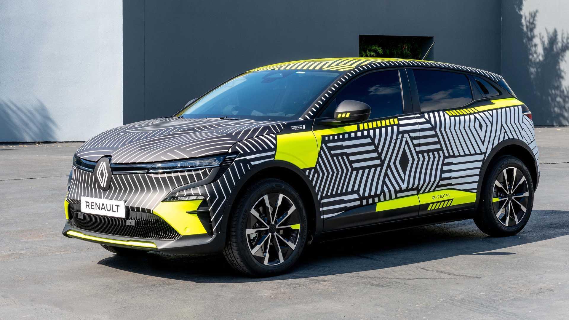 Renault MéganE - Voici les photos du prototype