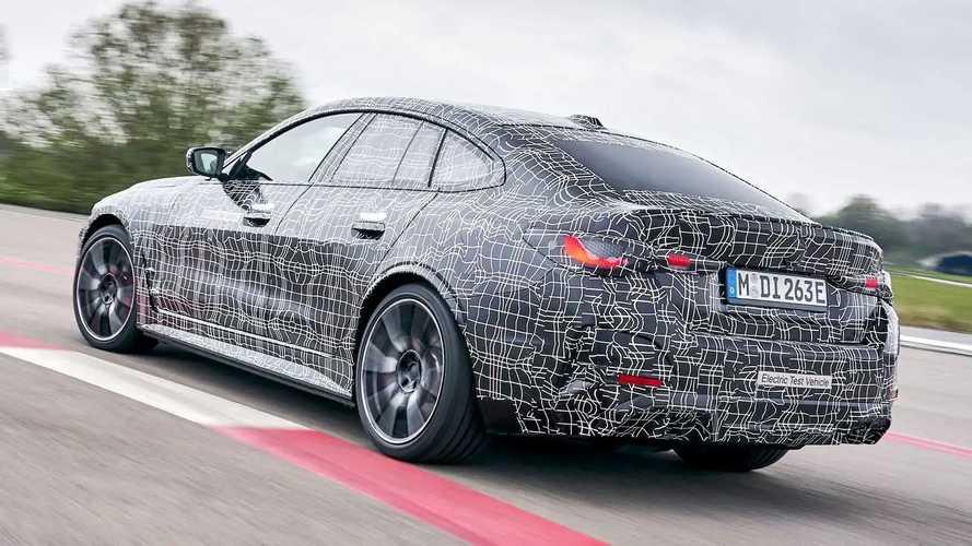 BMW i4 M50 (2021) PreDrive