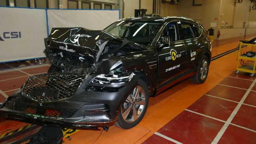 Genesis GV80 Euro NCAP crash test